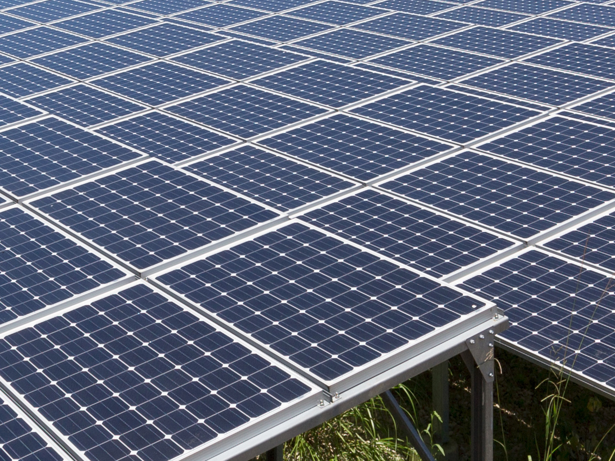 Solar farms and alternative energy